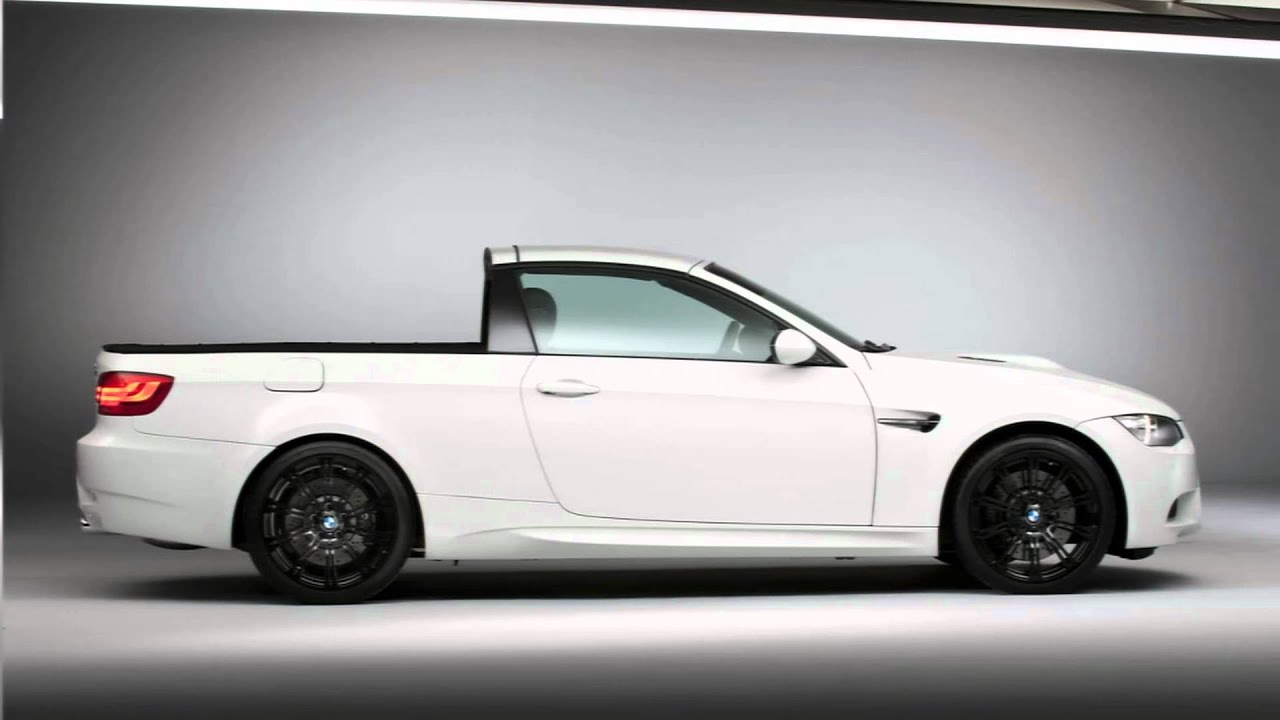 2011 BMW M3 Pickup Concept - YouTube