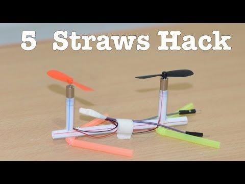 5 Things YOU can make using Straws - Life Hacks