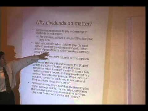 Don Fishback: Why Dividends Matter