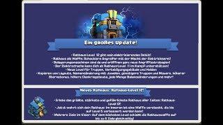 Clash of Clans (Deutsch) RH 12 Update ist schon DA!!!! Die neuen Bogitürme und mehr
