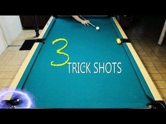 3 Pool Trick Shots: Volume 5