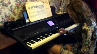 Урок игры №1 на фортепиано, для взрослых.