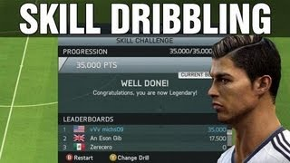 FIFA 14 Dribbling Skill Game Tutorial | *Legendary Score*