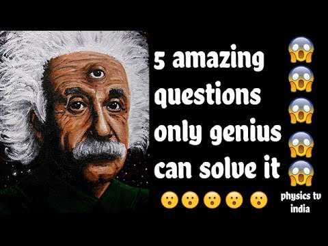 ✅ 5 Simple and amazing Questions Only a Genius Can Answer-Intelligence Test (IQ) | part-2