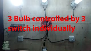 House wiring Tutorial (Tagalog)( NC 2 Electrical Installation) 3 bulb