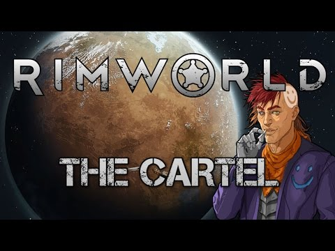 [9] Modded Rimworld A15 - The Cartel | Expanding All The Rooms