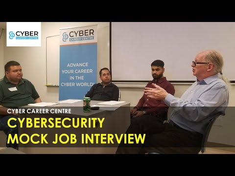 Cyber Career Centre – Mock Cybersecurity Job Interview