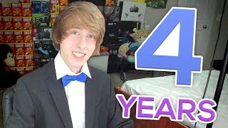 LIVE 🔴 - 4 YEARS ON YOUTUBE!! Let's Hangout! :D