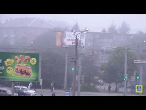 Смог, или туман..? НМУ в Челябинске 1 сентября 2017г.
