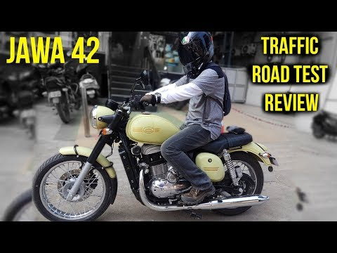 Jawa 42 Traffic Test Ride Review || The JAWA I Loved 😊