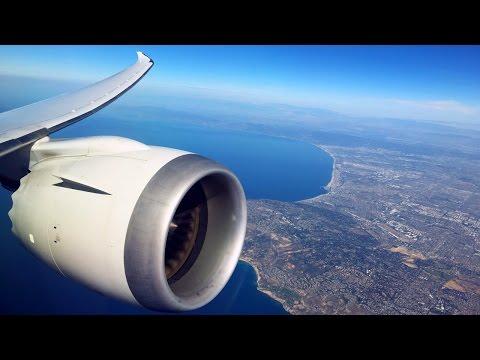 United Boeing 787-9 Polaris Business Class Los Angeles - Houston