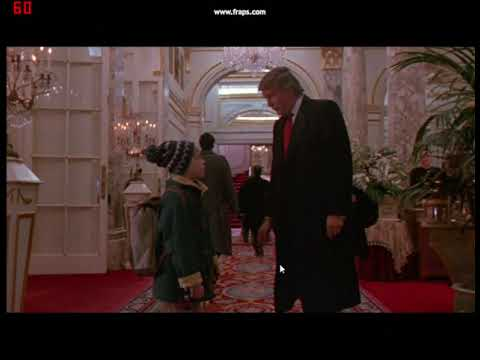 Donald Trump in Home Alone 2 - YouTube
