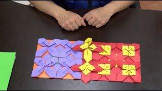Como hacer un mosaico en origami - Hogar Tv  por Juan Gonzalo Angel