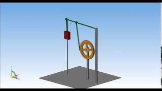 Модель механизма 1  КОМПАС 3D V15