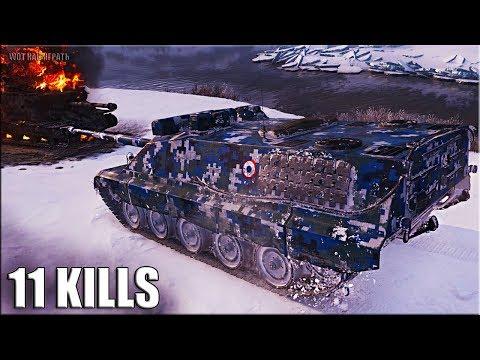AMX 50 Foch B ? медаль Колобанова, 11 фрагов ? World of Tanks thumbnail