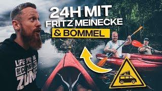 24h mit Fritz Meinecke und Bommel -Kajak Tour und Overnighter