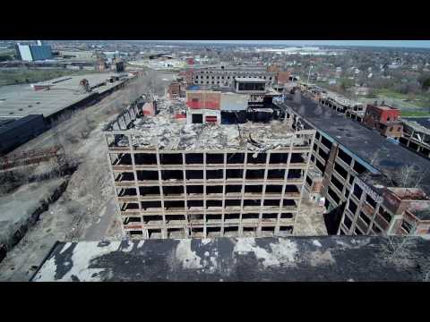 The Old Packard Automotive Plant Detroit 2017 April