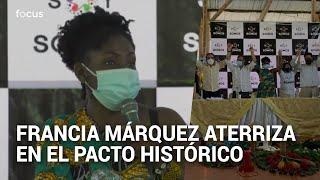 Francia Márquez oficializa su aspiración presidencial por el Pacto Histórico de Petro