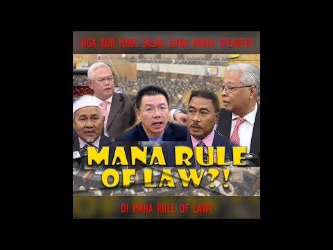Nga Kor Ming Salah Guna Kuasa? Mana Rule Of Law?
