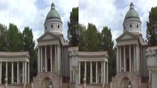 Архангельское в 3D-side by side-стереопара-sbs
