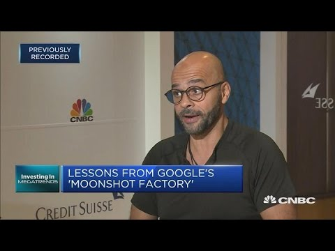 """This former Google exec is attempting a """"personal moonshot"""" 