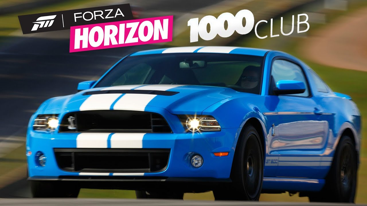 15 Forza Horizon 1000 Club Ford Mustang Shelby GT500 PL