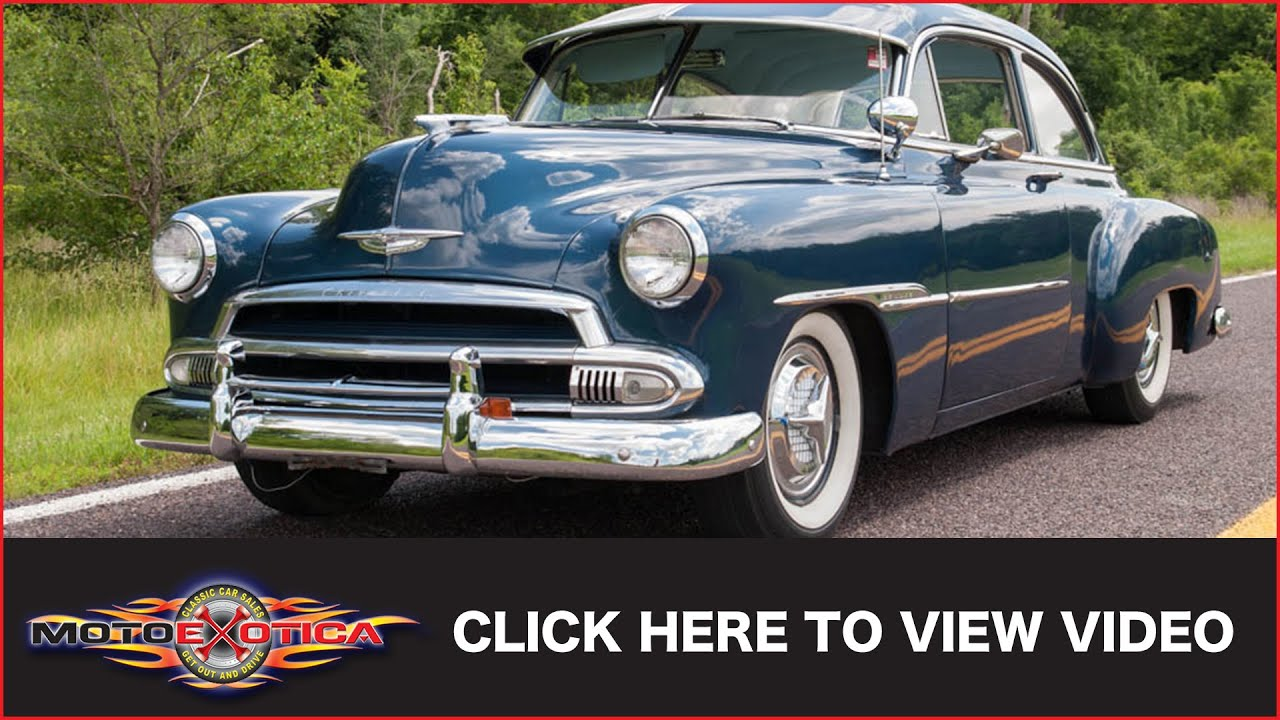 Car For Sale Sign >> 1951 Chevrolet Styleline (SOLD) - YouTube