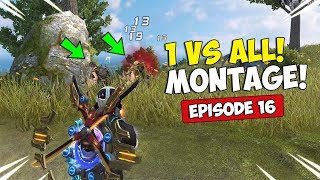 ROS 1 vs. ALL Kill Montage! Ep. 16 (Rules of Survival)