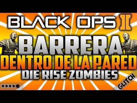 Truco Black Ops 2 Zombies: Die Rise Glitches - Barrera Cerca de la PDW