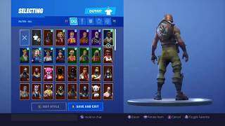 Selling My Fortnite Stacked Account