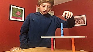 Marker Flip Trick Shots 2 (GREATEST MARKER FLIPS!!!) LANDED A COLORED PENCIL