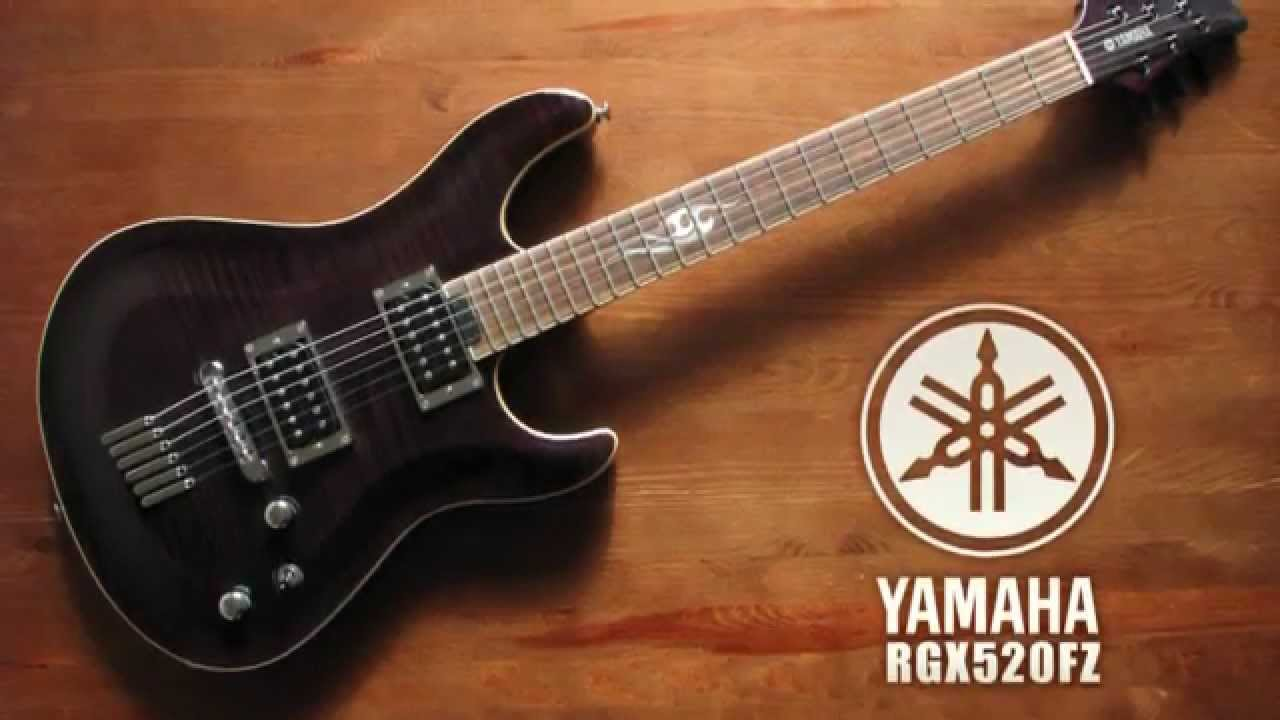 yamaha rgx520fz electric guitar see thru black youtube. Black Bedroom Furniture Sets. Home Design Ideas