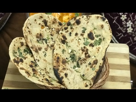 Garlic naan recipe without oven and yeast garlic butter naan recipe