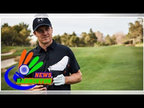 Jordan spieth unveils the spieth 2 golf shoe in las vegas
