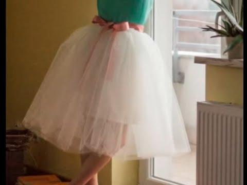 Платье с юбкой пачкой своими руками