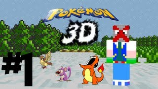 {1} Plastic Bag Man: Pokemon Master (Pokemon 3D) - CHARMANDER