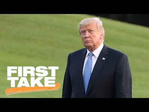 Max reacts to President Trump's comments on NFL business 'going to hell' | First Take | ESPN