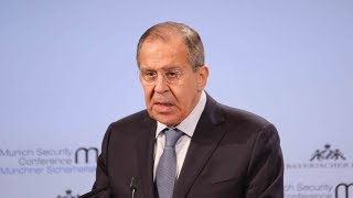 """Lavrov describes US indictment of Russians for election meddling as """"blabber"""""""