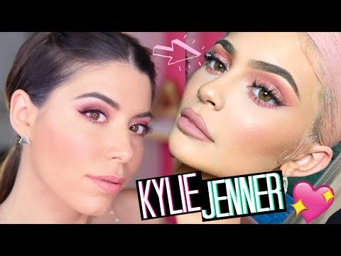 copio-il-makeup-rosa-di-kylie-jenner!-💓summer-pink-makeup-2019-|-adriana-spink