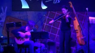 "Anna Rakita and Ivan Rahmanov - ""Quiet - O Grande amor"" - Jazz violin"