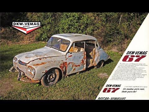 Ligando DKW Belcar 67 - Parado há muitos anos