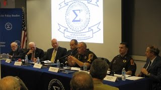 ICTS Seminar: Combating Terrorism and the Role of Law Enforcement