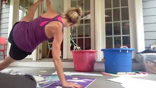 Saturday flow - Hot and sweaty porch with little Henry drawing in the background (and singing?)