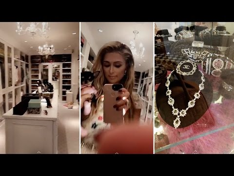 Paris Hilton | My Closet Tour | 2017