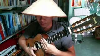 """Hướng dẫn điệu Habanera Guitar & Đệm hát """"Về đâu mái tóc người thương"""" - Anhbaduy Guitar - Cà Mau"""