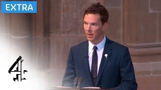 Benedict Cumberbatch reads the poem