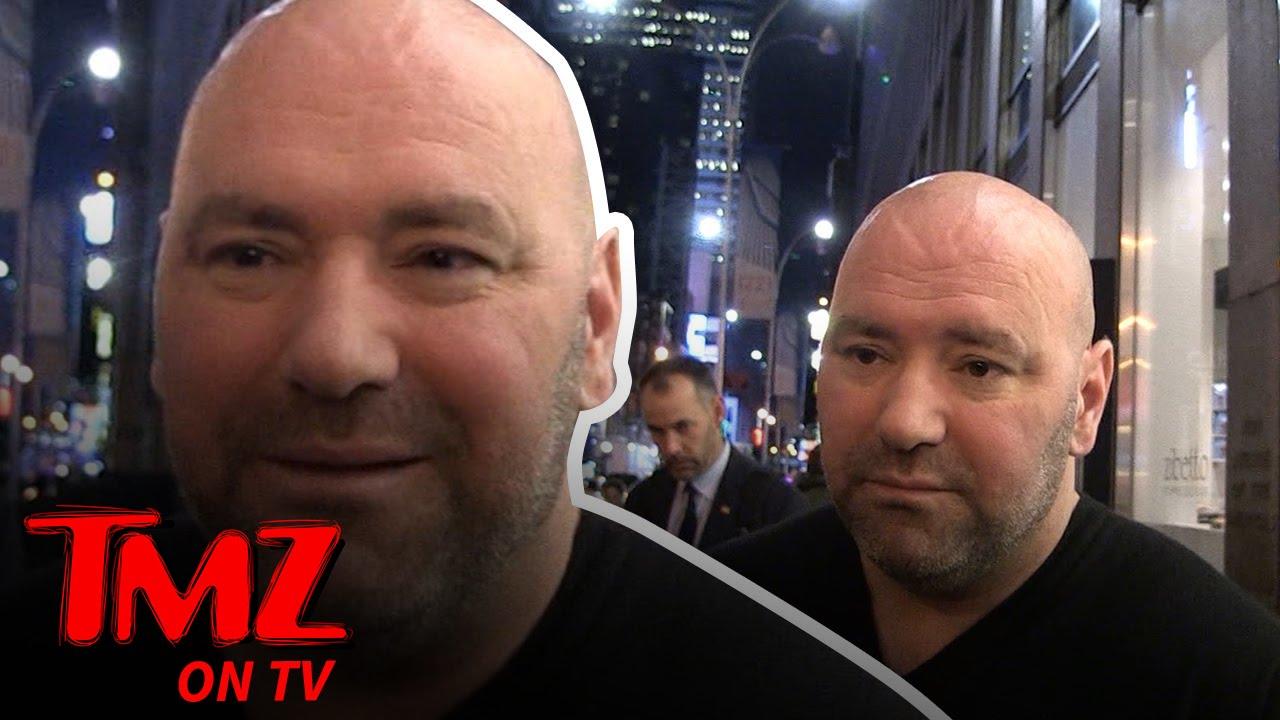 Dana White dice Trump podría venir a UFC 205 | TMZ TV