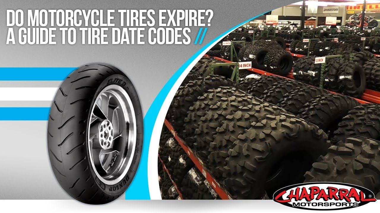 Do Motorcycle Tires Expire A Guide To Tire Date Codes