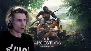 Xqc Reacts To Ancestors The Humankind Odyssey Gameplay With Chat