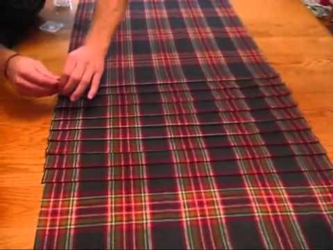 Выкройка для шотландской юбки